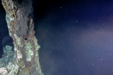 Hydrothermal vents at Endeavour