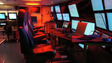 Control room on the R/V Falkor