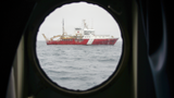 CCGS John P Tully seen from the Thompson