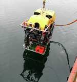 ROV Oceanic Explorer enters the waters of Saanich Inlet