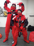 Safety training on the CCGS Tully