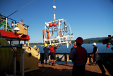 Micro-Squid Frame platform is deployed in the Saanich Inlet