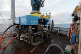 Launch of ROV Jason from the Thompson