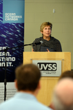UVic's vice-president of Finance and Operations, Gayle Gorrill