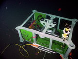 Barkley Benthic Pod 1 on the Seafloor