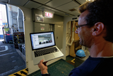 R/V Sikuliaq interacting with ONC staff in Victoria via Skype