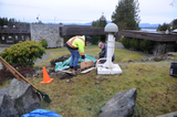 Bamfield Earthquake Early Warning system install