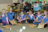 BC Girl Guides Ocean Aware event